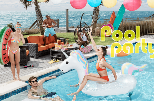 O que é pool party e como organizar a sua?